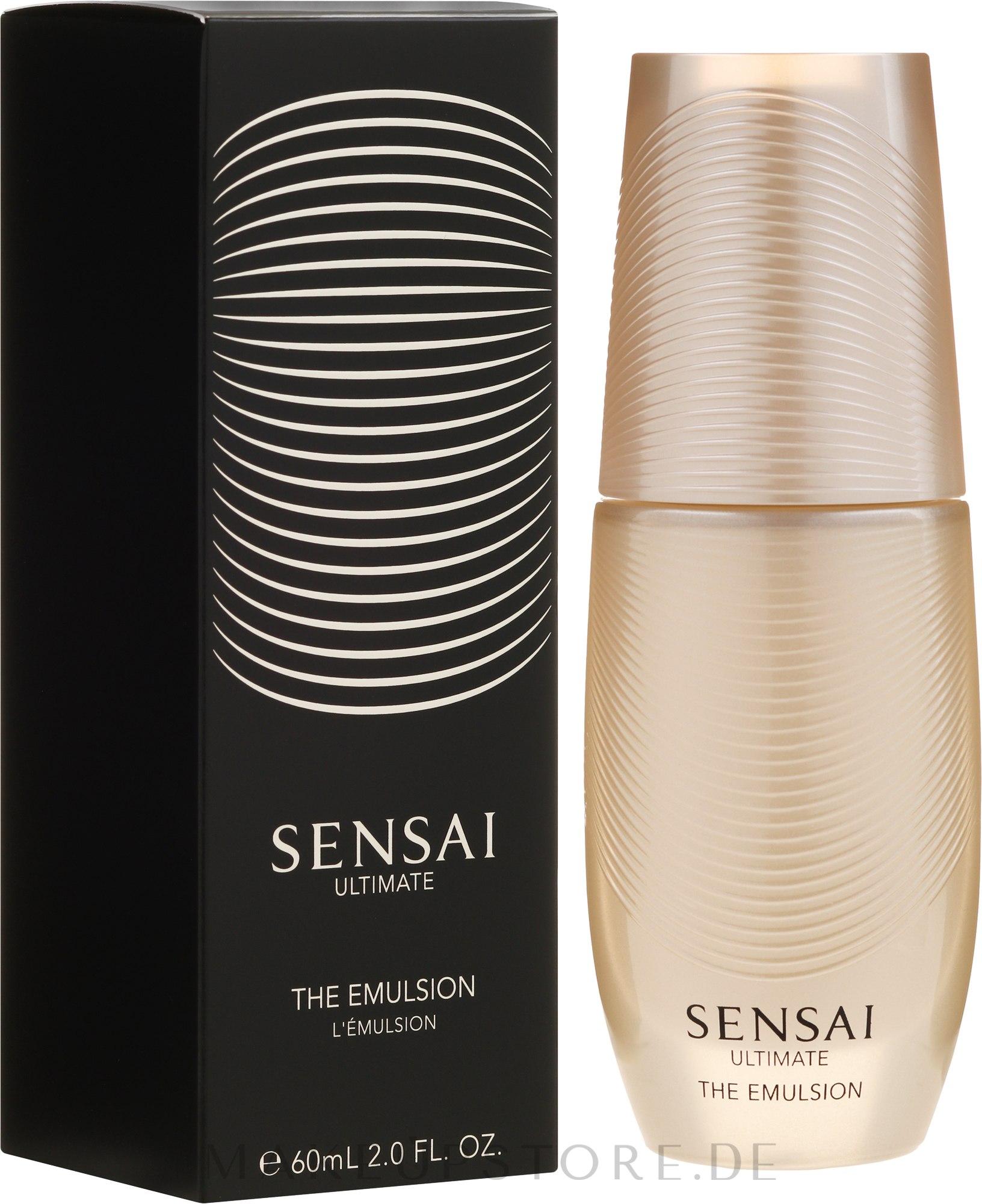 Intensiv pflegende Gesichtsemulsion - Kanebo Sensai Ultimate The Emulsion — Bild 100 ml