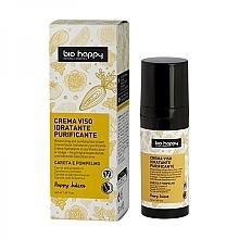 Düfte, Parfümerie und Kosmetik Feuchtigkeitsspendende und klärende Gesichtscreme mit Karotte und Grapefruit - Bio Happy Face Cream