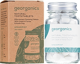 Düfte, Parfümerie und Kosmetik Zahnreinigungstabletten-Minze - Georganics Natural Toothtablets Spearmint