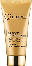 Düfte, Parfümerie und Kosmetik Anti-Aging Gesichtsmaske - Qiriness Le Wrap Temps Sublime Masque Premium Anti-Age Global