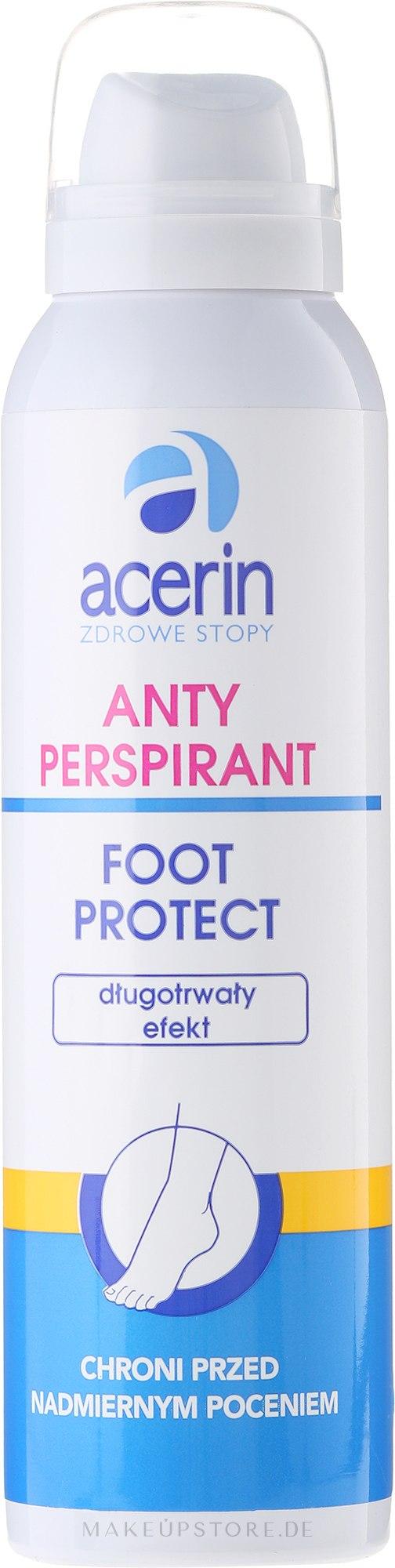 Fußdeospray Antitranspirant - Acerin Foot Protect Deo — Bild 150 ml