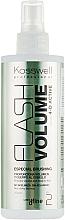 Düfte, Parfümerie und Kosmetik Haarspray für mehr Volumen - Kosswell Professional Dfine Flash Volume