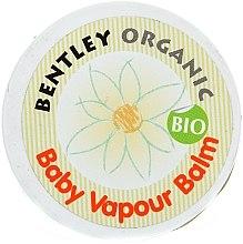 Düfte, Parfümerie und Kosmetik Wärmender Babybalsam zur Erleichterung des Atmens mit natürlichem Eukalyptusöl - Bentley Organic Baby Vapour Balm
