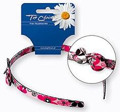 Düfte, Parfümerie und Kosmetik Haarreif mit Blumenmuster rosa - Top Choice