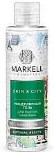 Düfte, Parfümerie und Kosmetik Mizellen-Gel zur Make-Up Entfernung mit Silberohr - Markell Cosmetics Skin&City