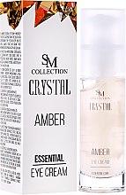 Düfte, Parfümerie und Kosmetik Essentielle Augenkonturcreme Bernstein - Hristina Cosmetics SM Crystal Amber Eye Cream
