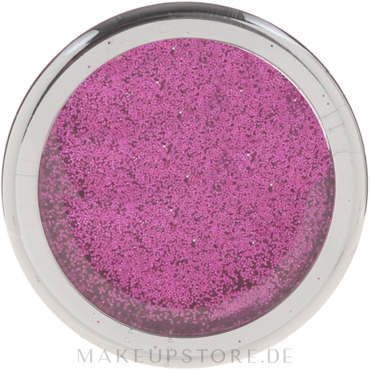Glitzer-Augen-Make-up - Donegal Glitters — Bild Sparkling Pink