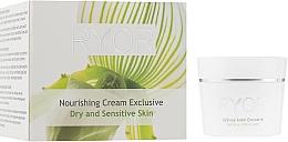 Düfte, Parfümerie und Kosmetik Nährende Gesichtscreme für trockene und empfindliche Haut - Ryor Nourishing Cream Exclusive
