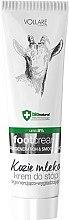 Düfte, Parfümerie und Kosmetik Regenerierende Fußcreme mit Ziegenmilchproteine - Vollare Goat's Milk Regenerating & Smoothing Foot Cream