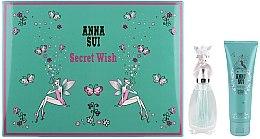 Düfte, Parfümerie und Kosmetik Anna Sui Secret Wish - Duftset (Eau de Toilette 30ml + Körperlotion 90ml)