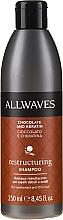 Düfte, Parfümerie und Kosmetik Restrukturierendes Shampoo mit Keratin und Kakao-Extrakt - Allwaves Chocolate And Ceratine Restructuring Shampoo