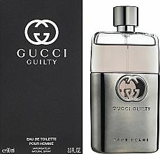 Gucci Guilty Pour Homme - Eau de Toilette — Bild N2