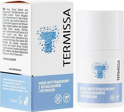 Anti-Akne Gesichtscreme mit Beta-Glucan und Retinol - Termissa Face Cream — Bild N1