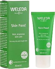 Düfte, Parfümerie und Kosmetik Intensiv nährende Gesichts- und Körpercreme für trockene und raue Haut - Weleda Skin Food