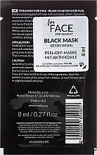 Peel-Off Gesichtsmasken mit Aktivkohle 3 St. - One&Only Cosmetics For Face Black Mask Detox Ritual — Bild N2