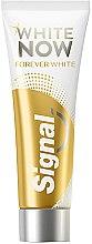 Düfte, Parfümerie und Kosmetik Aufhellende Zahnpasta White Now - Signal White Now Forever Toothpaste