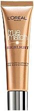 Düfte, Parfümerie und Kosmetik Flüssiger Highlighter - L'oreal Paris True Match Highlight