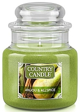 Düfte, Parfümerie und Kosmetik Duftkerze im Glas Anjou & Allspice - Country Candle Anjou & Allspice