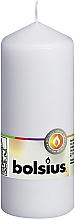 Düfte, Parfümerie und Kosmetik Stumpenkerze weiß 150x60 mm - Bolsius Candle