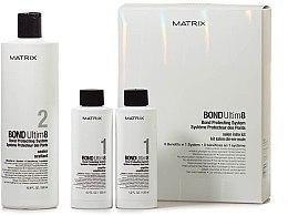 Düfte, Parfümerie und Kosmetik Haarpflege-Set - Matrix Bond Ultim8 Salon Intro Kit (Haarverstärker 2x125ml + Haarversiegelung 500ml + Spritze)