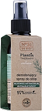 Düfte, Parfümerie und Kosmetik Antibakterielles Fußdeospray - Pharma CF No.36 Plantis Therapy Foot Spray