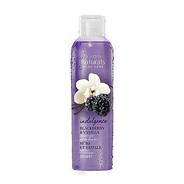 Duschgel - Avon Naturals Flirty Blackberry Vanilla Shower Gel — Bild N1