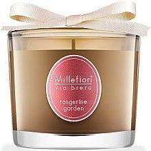 Düfte, Parfümerie und Kosmetik Duftkerze im Glas Tangerine Garden - Millefiori Milano Via Brera Candle Tangerine Garden