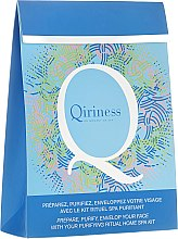 Düfte, Parfümerie und Kosmetik Gesichtpflegeset - Qiriness (Peelingmaske 20ml+Aroma-Dampfbad 8g+Reinigende Maske 30g)