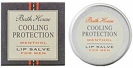 Düfte, Parfümerie und Kosmetik Feuchtigkeitsspendende schützende Lippensalbe mit Menthol für Männer - Bath House Cooling Protection Menthol Lip Salve