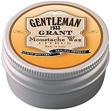 Düfte, Parfümerie und Kosmetik Schnurrbartwachs - Gentleman Grant Moustache Wax Citrus