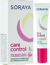 Düfte, Parfümerie und Kosmetik Gesichts-Concealer - Soraya Care & Control Corrector