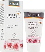 Düfte, Parfümerie und Kosmetik Feuchtigkeitsspendende Gesichtscreme mit Rose - Nikel Hydrating Cream with Rose