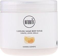 Körperscrub mit Zucker - Naturativ Cuddling Body Sugar Scrub — Bild N1