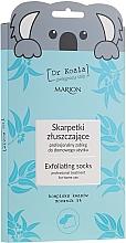 Düfte, Parfümerie und Kosmetik Peeling-Fußmaske in Socken - Marion Dr Koala Exfoliating Socks