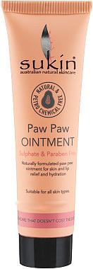 Feuchtigkeitsspendende Salbe für Gesicht, Hände und Körper mit Rizinusöl und Papayaextrakt - Sukin Paw Paw Ointment — Bild N1
