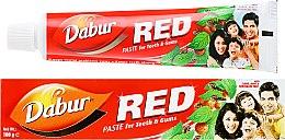 Düfte, Parfümerie und Kosmetik Ayurvedische Zahnpasta mit Kräuterextrakten Red - Dabur Red
