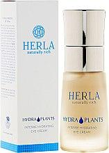 Düfte, Parfümerie und Kosmetik Intensive feuchtigkeitsspendende Augencreme - Herla Hydra Plants Intense Hydrating Eye Cream