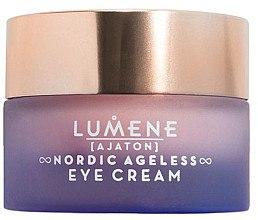 Düfte, Parfümerie und Kosmetik Pflegende und feuchtigkeitsspendende Anti-Aging Creme für die Augenpartie - Lumene Nordic Ageless [Ajaton] Eye Cream