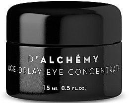 Düfte, Parfümerie und Kosmetik Anti-Aging Augenkonzentrat - D'Alchemy Age?Delay Eye Concentrate