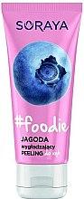 Düfte, Parfümerie und Kosmetik Glättendes Handpeeling mit Himbeerextrakt - Soraya Foodie Jagoda