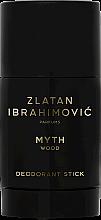 Düfte, Parfümerie und Kosmetik Zlatan Ibrahimovic Myth Wood - Parfümierter Deostick