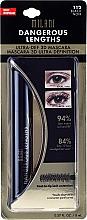 Düfte, Parfümerie und Kosmetik 3D Mascara für lange Wimpern in Blister - Milani Dangerous Lengths Ultra-Def 3D Mascara