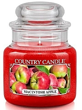 Düfte, Parfümerie und Kosmetik Duftkerze im Glas Macintosh Apple - Country Candle Macintosh Apple