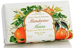 Düfte, Parfümerie und Kosmetik Naturseife mit Mandarine und Minze - Saponificio Artigianale Fiorentino Tangerine & Mint Soap