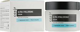 Düfte, Parfümerie und Kosmetik Intensiv verjüngende und feuchtigkeitsspendende Gesichtscreme mit Hyaluronsäure und pflanzlichem Komplex - Coxir Ultra Hyaluronic Cream