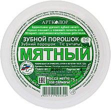 Düfte, Parfümerie und Kosmetik Zahnpulver mit Minze - Artcolor