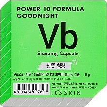 Düfte, Parfümerie und Kosmetik Hautklärende Schlafmaske für das Gesicht in einer Power-Kapsel - It's Skin Power 10 Formula Goodnight Sleeping Capsule VB