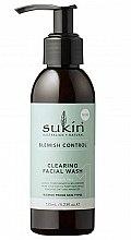 Düfte, Parfümerie und Kosmetik Gesichtswaschgel mit Eukalyptus, Teebaum und Granatapfel - Sukin Blemish Control Clearing Facial Wash
