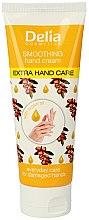 Düfte, Parfümerie und Kosmetik Glättende und pflegende Handcreme mit Arganöl - Delia Extra Hand Care