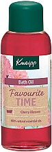 Düfte, Parfümerie und Kosmetik Badeöl Kirschblüte - Kneipp Favourite Time Cherry Blossom Bath Oil